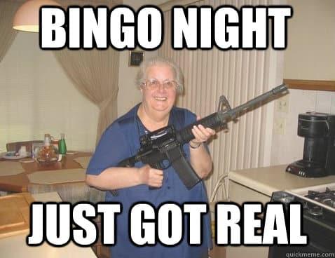 Funny Bingo Memes 1