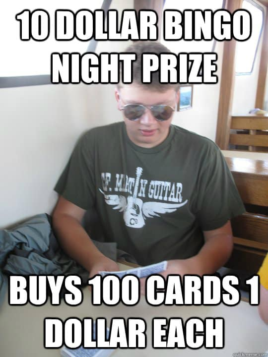 Funny Bingo Memes 4