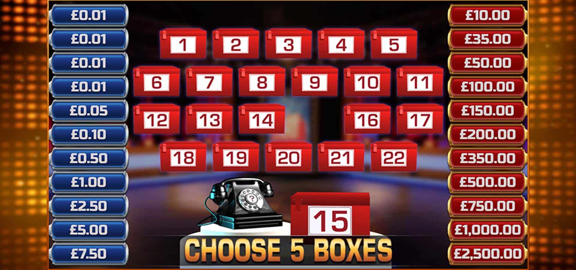 Deal Or No Deal Spiel