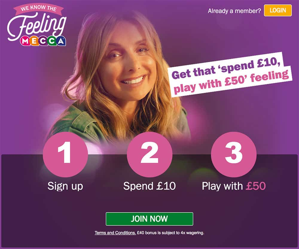 Mecca Bingo Review