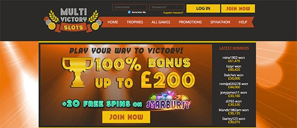 Multi Victory Slots Review