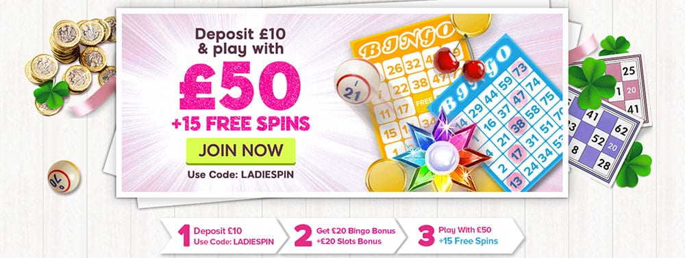 888Ladies Bingo Bonus Codes