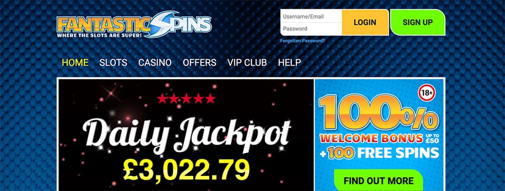 Fantastic Spins Casino Bonus Codes
