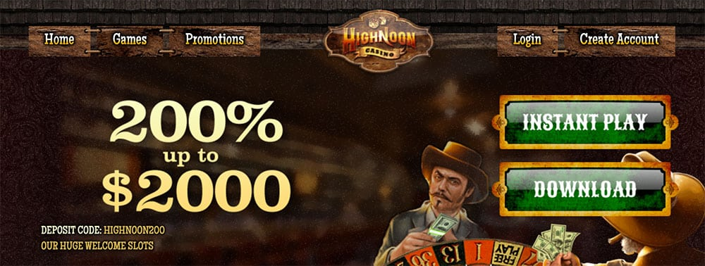 High Noon Casino Bonus Codes
