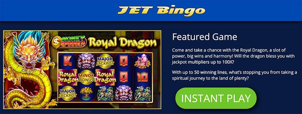 Jet Bingo Winners