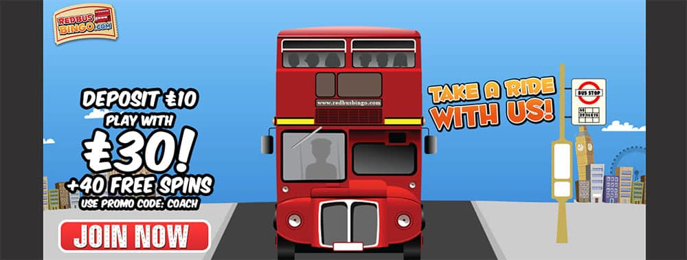 Red Bus Bingo Codes