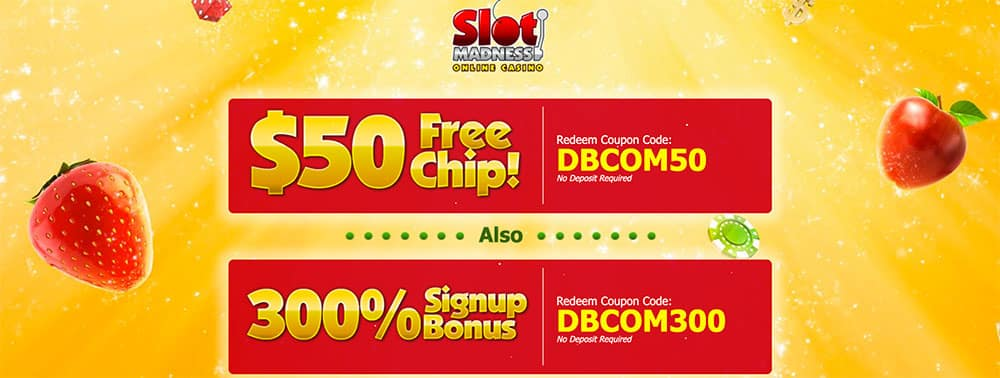 Slot Madness Casino Bonus Codes