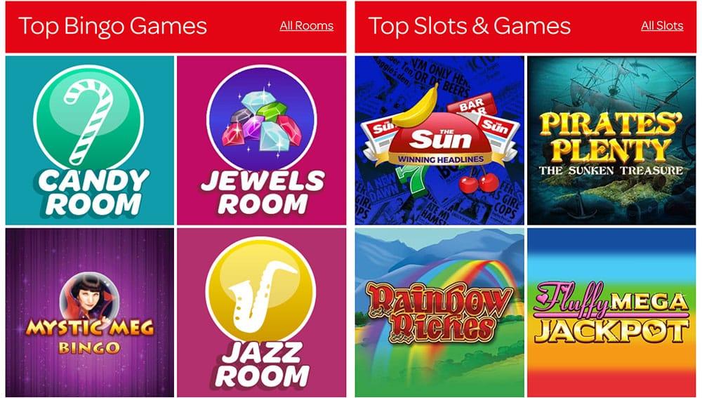 Sun Bingo Online