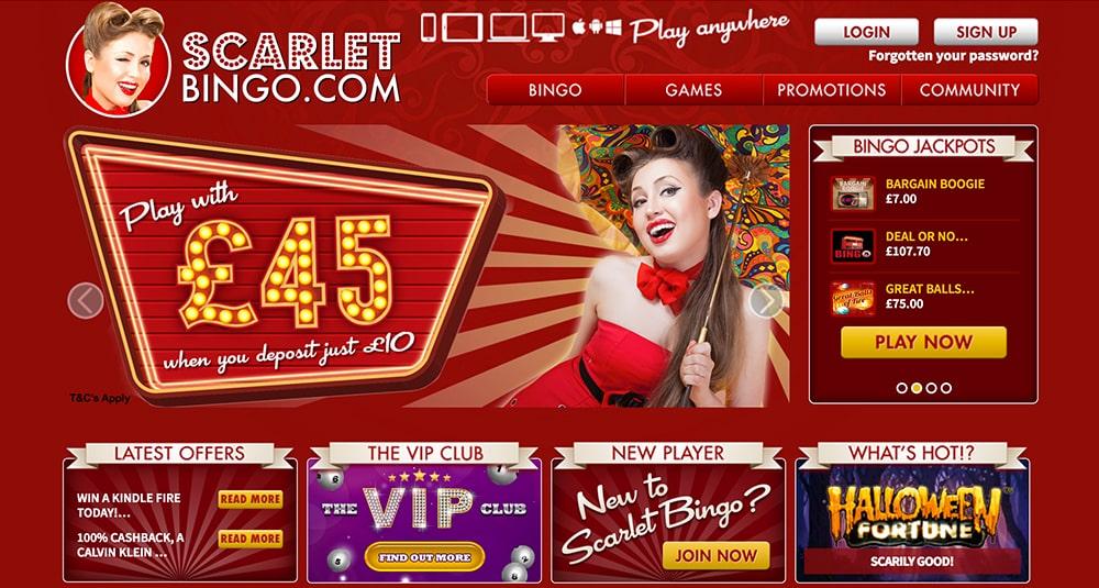 Scarlet Bingo