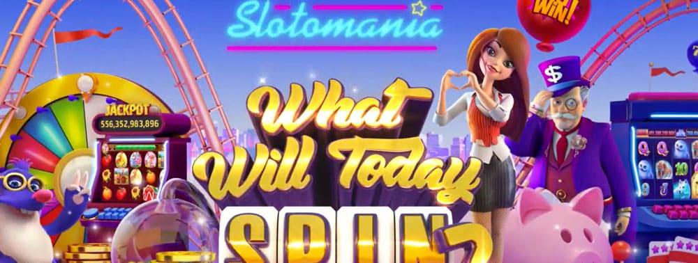 SlotoMania Slot Machines on Facebook