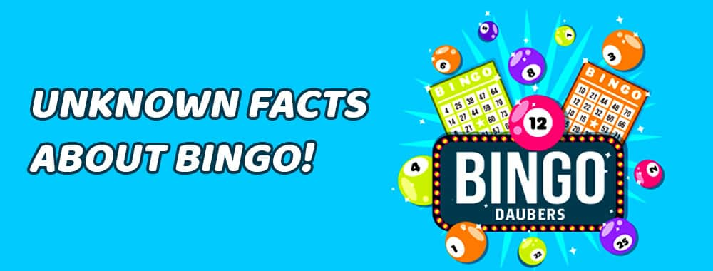 Unknown Facts About Bingo!