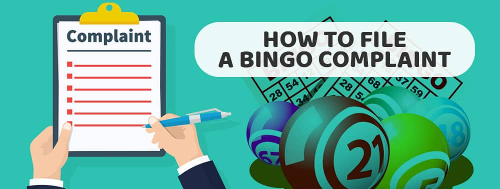 How to File a Bingo Complaint