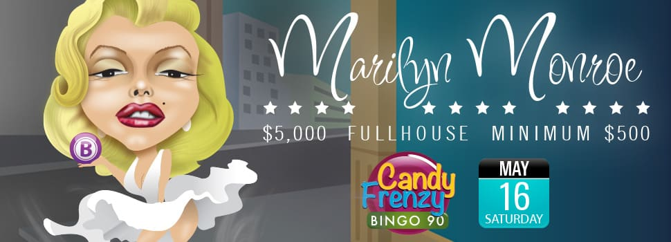 Marilyn Monroe $5K Full House Game