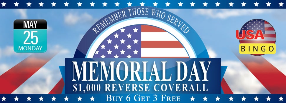 Memorial Day Reverse Coverall Games