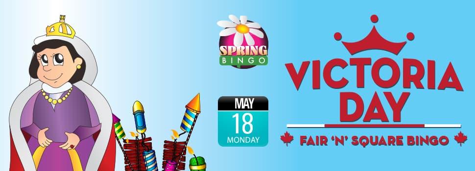 Victoria Day Fair 'N' Square Bingo