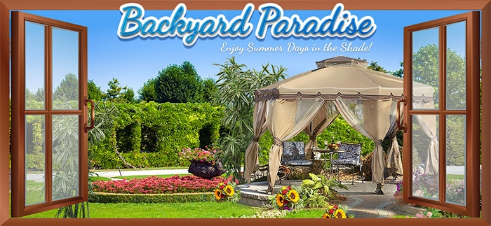 Bingo Hall Promo - Backyard Paradise June 2015