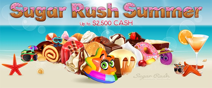 Bingo Hall Promo Sugar Rush Summer June 2015