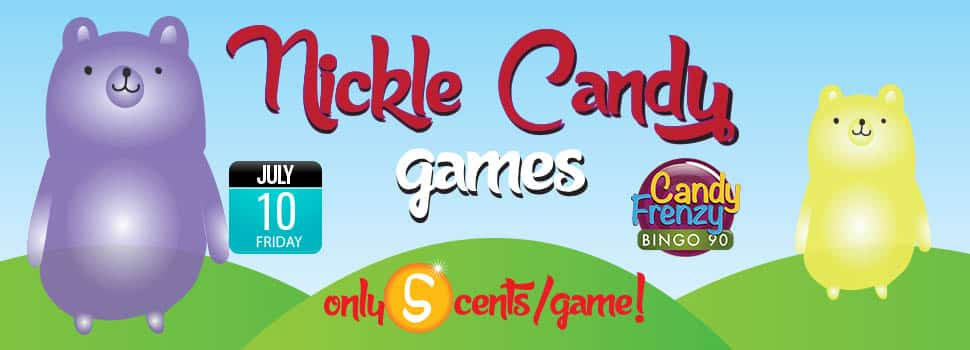 Play Nickle Candy Games on CyberBingo