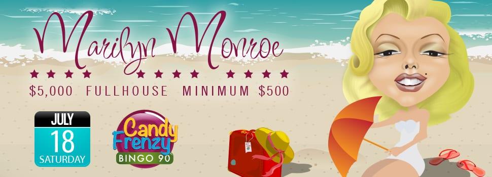Cyber Bingo Promo - Marilyn Monroe