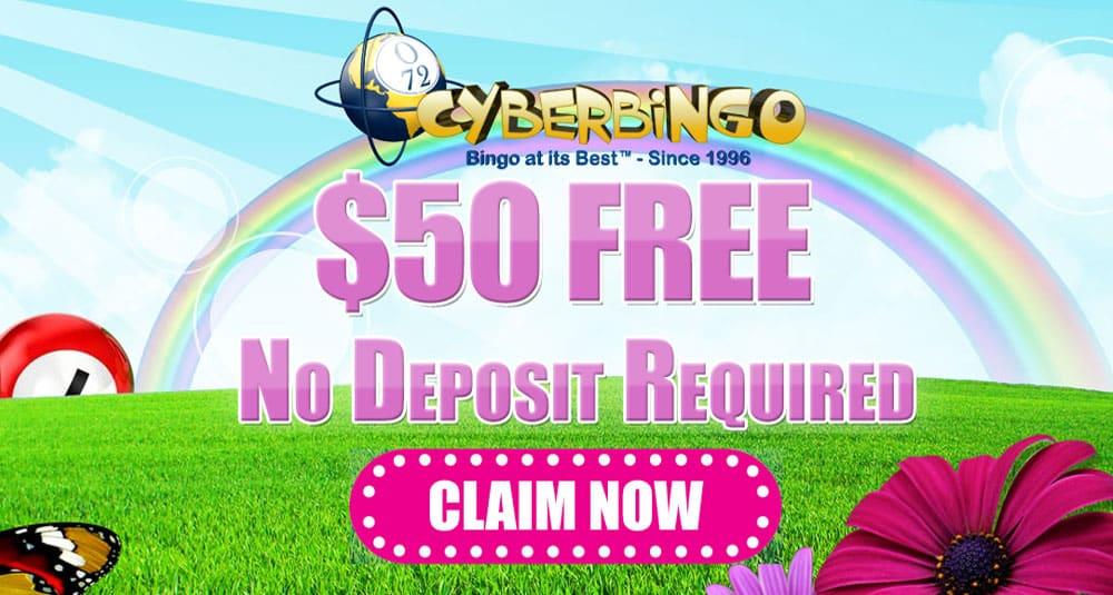 Cyber Bingo New Player No Deposit Bonus