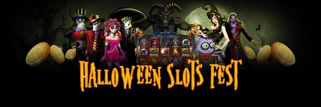 Bingo Hall - Halloween Slots Fest