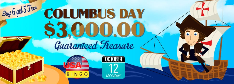 Cyber Bingo - Columbus Day Bingo