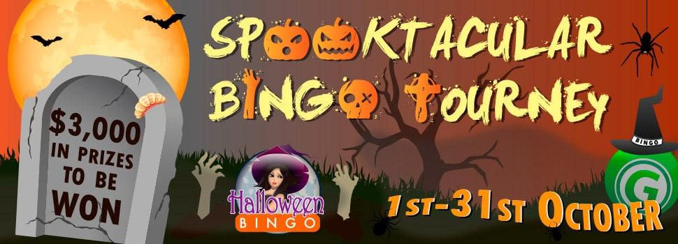 Cyber Bingo - Spooktacular Bingo Tourney
