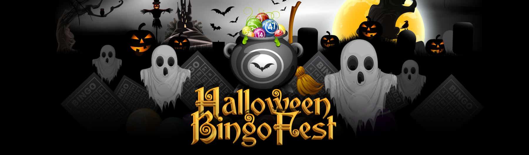 Vics Bingo Halloween Bingo Promotion