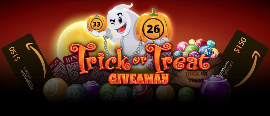 Vics Bingo - Halloween Trick or Treat Promotion