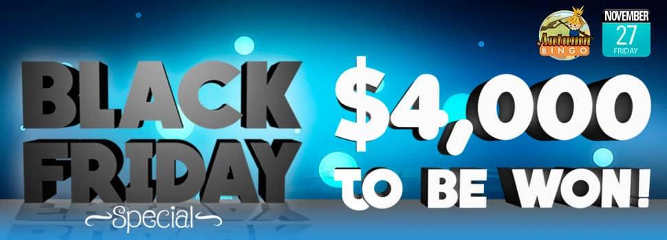 Cyber Bingo - Black Friday