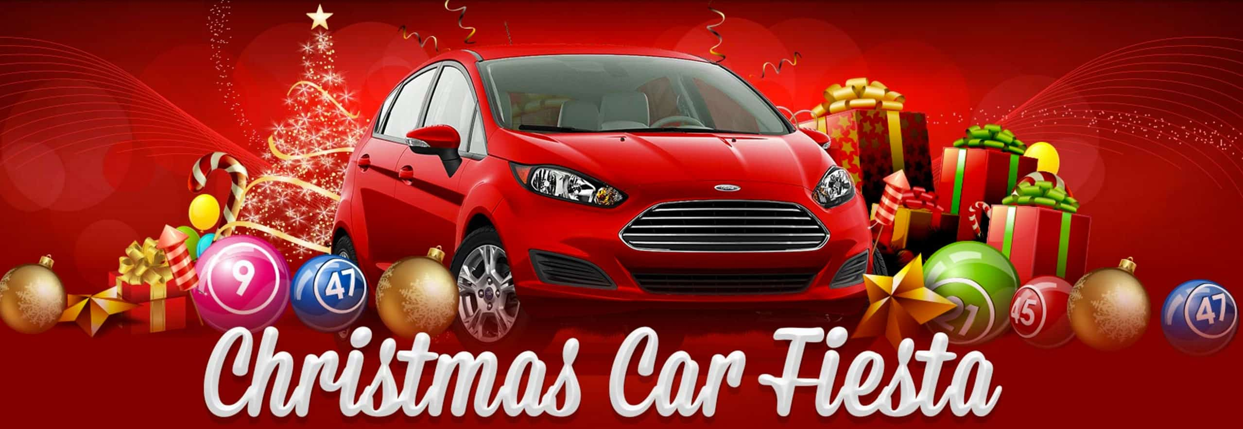Vic's Bingo - Christmas Car Fiesta