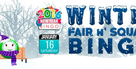 Bingo Fest - Winter Fair N' Square Bingo