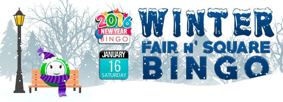 Bingo Fest - Winter Fair N' Square Bingo