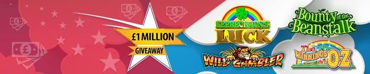 £1 Million Slots Draw at Betfred Bingo