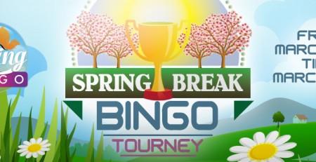 Cyber Bingo - Spring Break Bingo Tourney