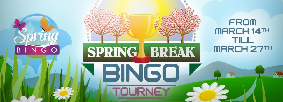 Cyber Bingo - Spring Break Bingo Tourney