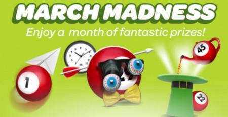 Sun Bingo's March Madness