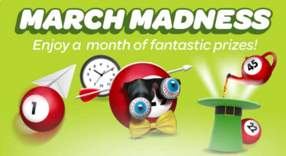 Sun Bingo's March Madness