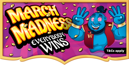Wish Bingo - March Promotion 2016