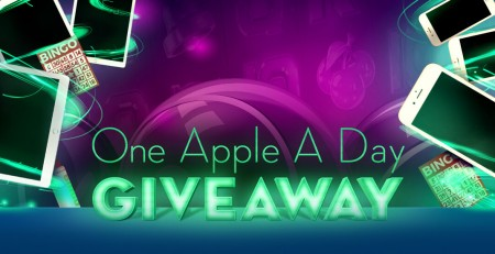BingoHall is giving away one Apple product to players