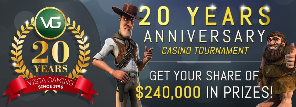 Win your share of $240,000 with Vegas Crest Casino