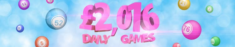 Play £2,016 games all this year at Betfred Bingo