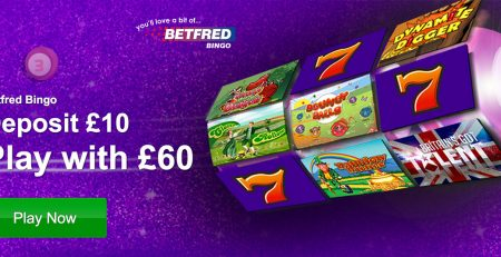 Betfred Bingo - Be the majestic to win exclusive £2,016 games