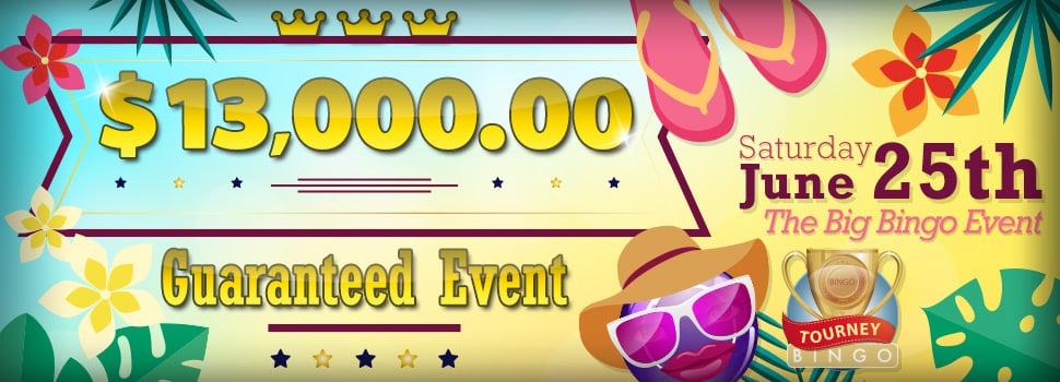Win $13,000 Cash with Bingo Fest