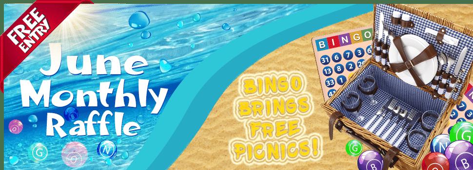 Bingo Fest - June Raffle