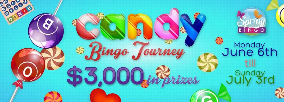 Cyber Bingo Candy Bingo Tourney