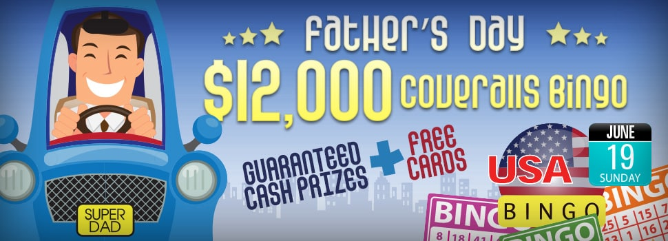 Father's Day $12,000 Coverall Games