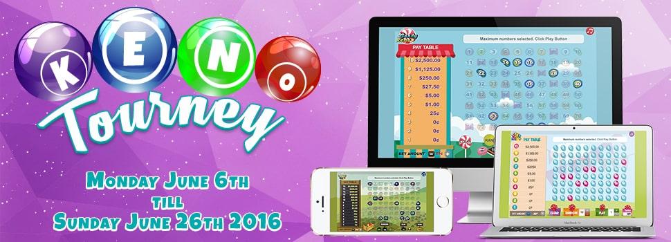 Cyber Bingo Keno Tourney