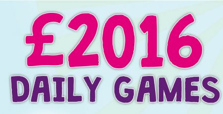 enjoy the sizzling £2,016 games with Bucky Bingo