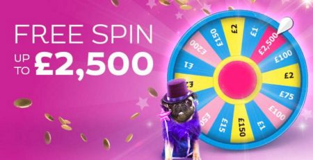 Spin the wheel for maximum!
